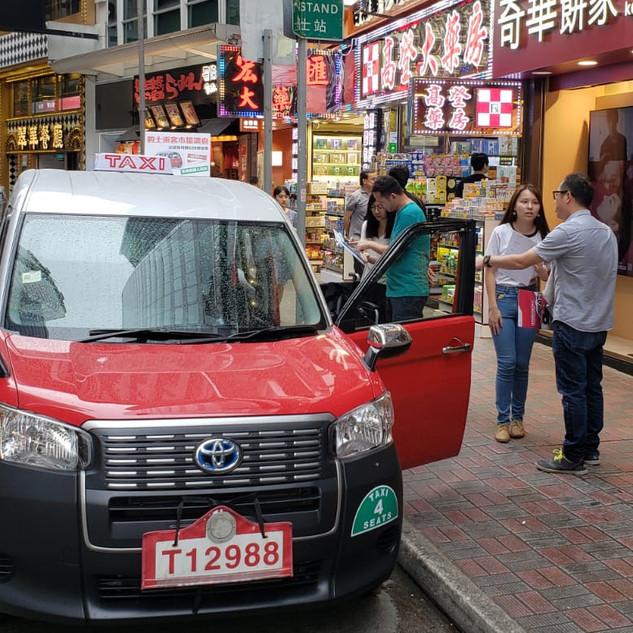 Toyota 銅鑼灣Taxi Event