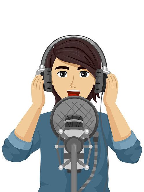 Voice Over Male Artist (Senior Grade)
