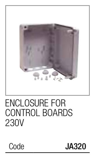 Genius Barrier Control Board JA320 Enclosure for control board