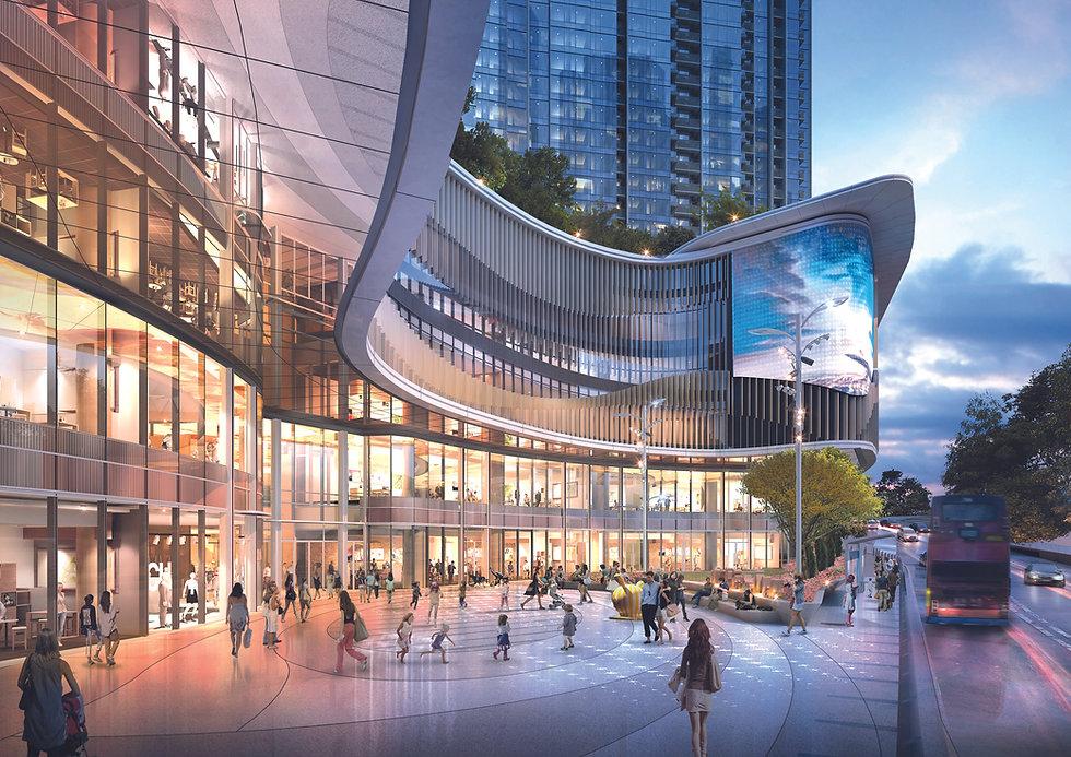 港島南區最大型地標商場「THE SOUTHSIDE」預計將於2023年落成,商場