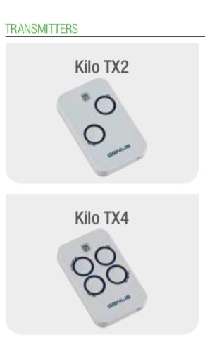 精英配件 - 雙頻道無線電發射器868MHz Kilo TX2