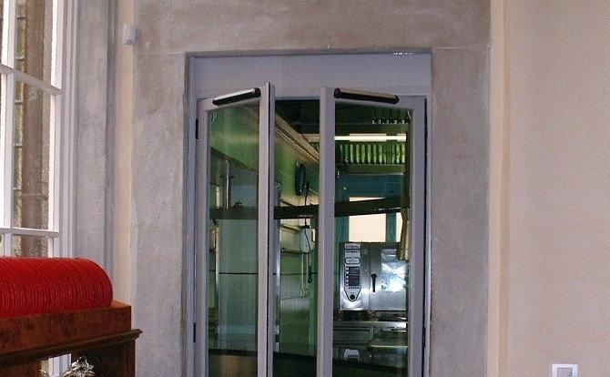 意大利 Sesamo Swingo 80KG 室內自動掩門