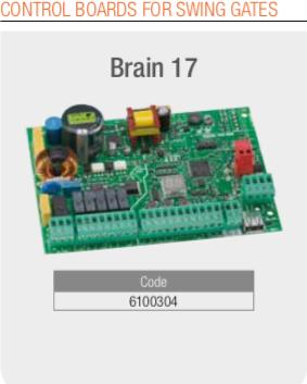 Genius Swing gate Control Board Brain 17