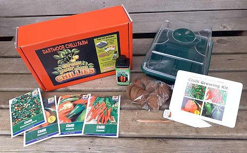 Premium Chilli Growing Kit (Sturdy Propagator)