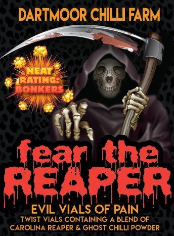 Fear the Reaper Vial