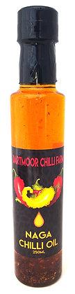 Extra Virgin NAGA Hot Chilli Oil,  250ml