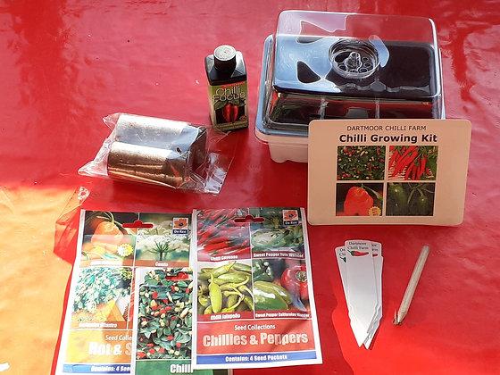 Chilli Growing Kit - Improved propagator