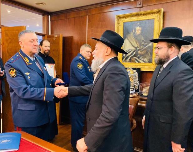 Подписание соглашения с УФСИН Москвы накануне 19 Кислева