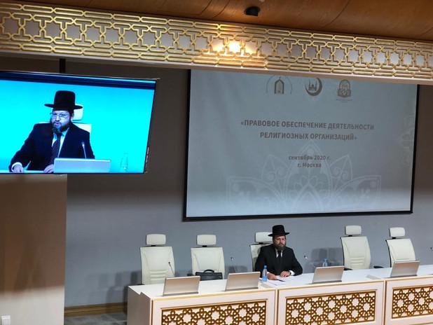 Лекция в Соборной мечети Москвы