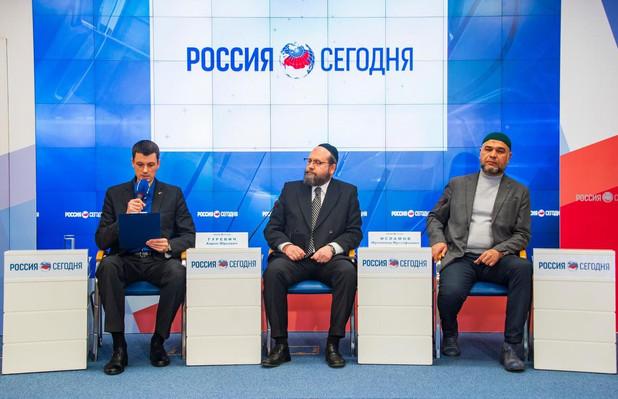 Пресс - конференция в РИА -  Новости Крыма