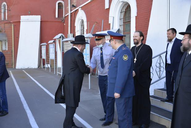 10 лет синагоге в Бутырском тюремном замке