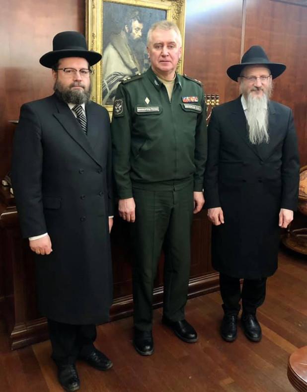 Встреча с представителем ГВПУ ВС РФ
