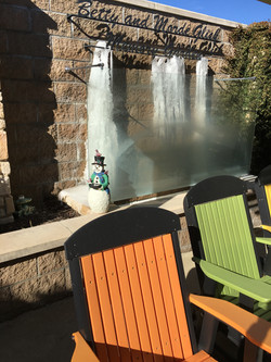 Patio Fountain Froze