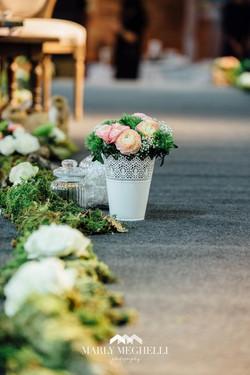 Vase dentelle blanc -- 3 € --