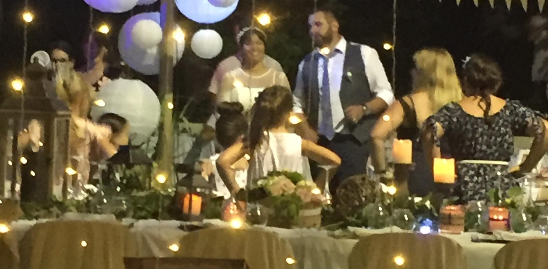mariage perles et talons hauts