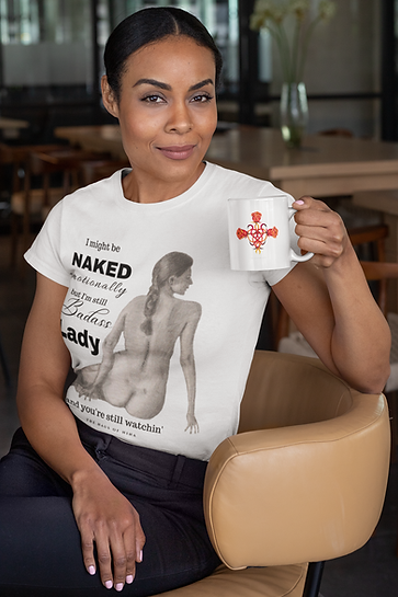 t-shirt-mockup-of-a-woman-sitting-on-a-chair-holding-an-11-oz-coffee-mug-31705.png
