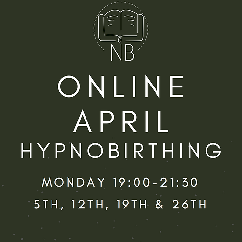 Online Hypnobirthing April / This is your £50 deposit* /£150 remainder to pay