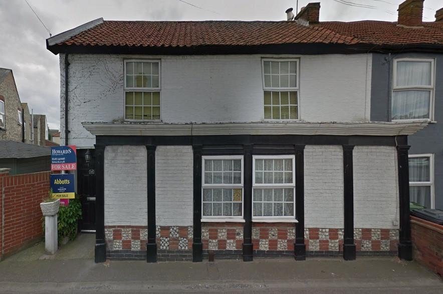 The former Lifeboat Tavern, Gorleston.