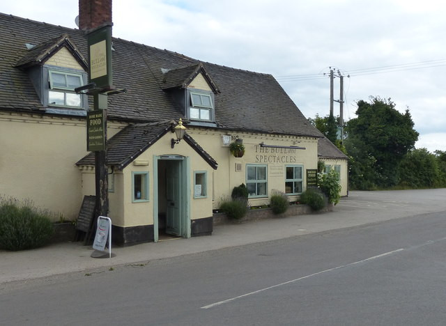 The Bull and Spectacles in Blithbury