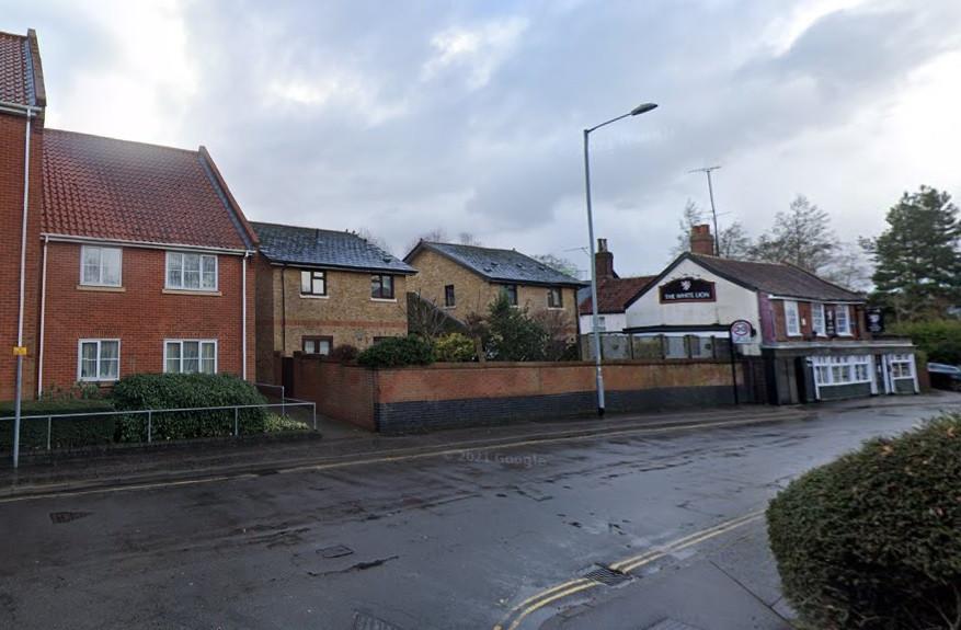 Site of Queen Caroline Oak Street  Norwich