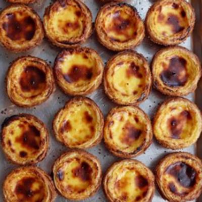 12 Portuguese Egg Tarts