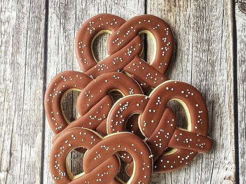 24 Pretzel Sugar Cookies