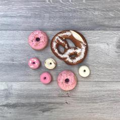 Mini Donuts and Pretzels