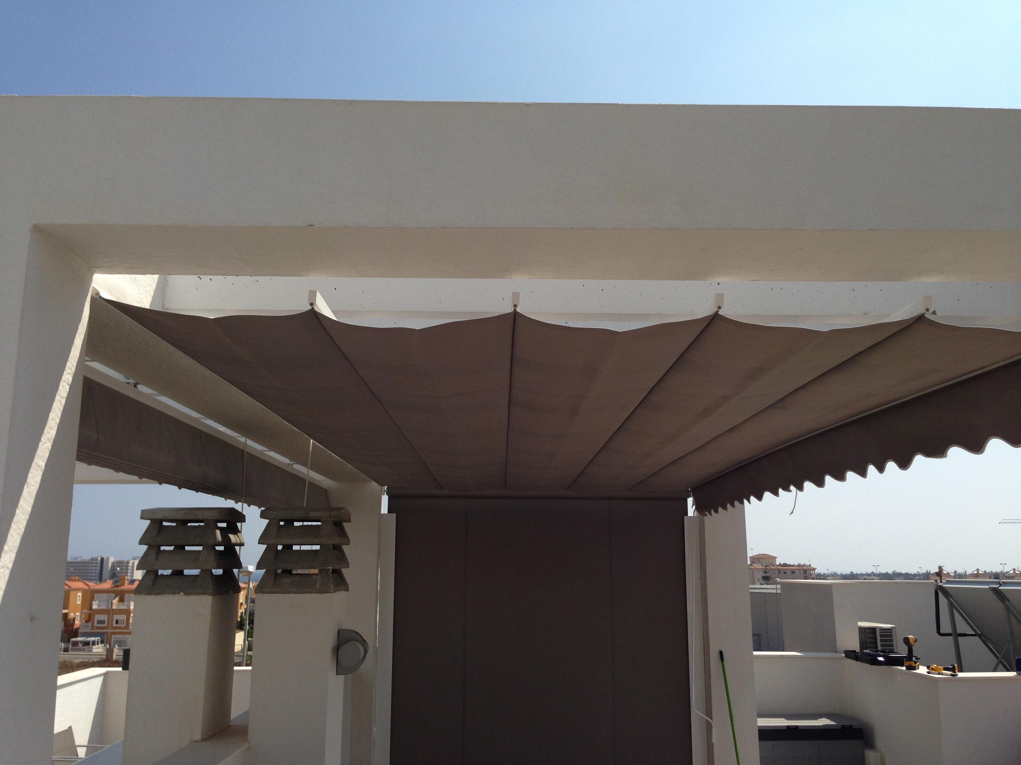 Solskydd och vindskydd