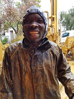 Aquacore Drilling Boreholes is Messy Wor