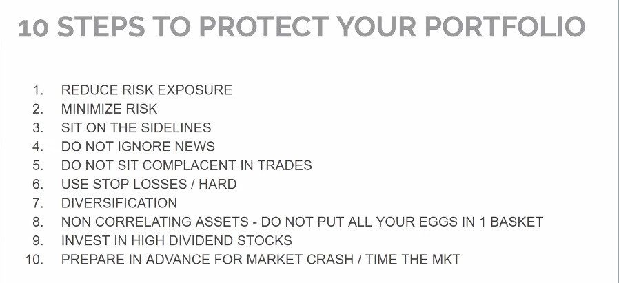 Effective planning: 10 golden rules to protect your Portfolio