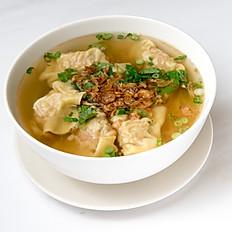 S7 Wonton Egg Noodle Soup (Pork & Shrimp Wontons