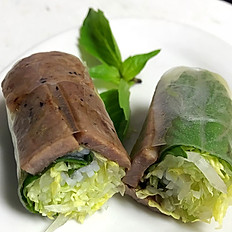 A3 Fresh Spring Roll with Grilled Beef (2)
