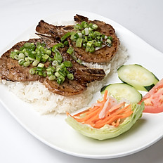 R1 Rice with Grilled Pork Chop