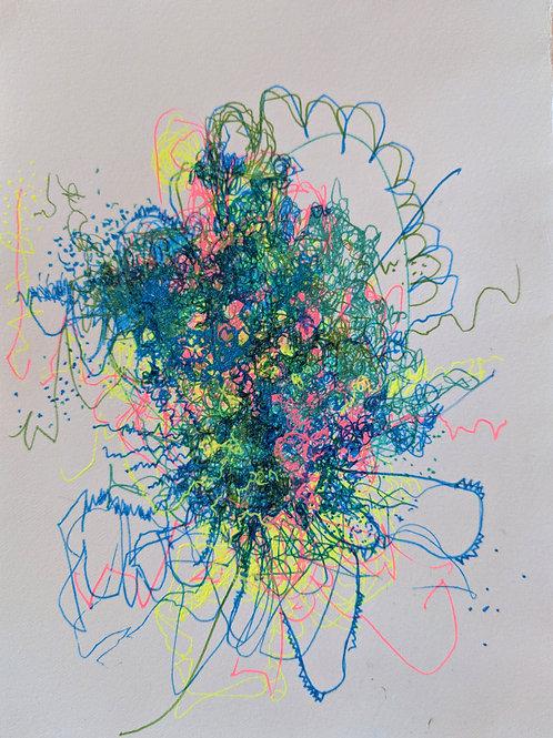 The Cosmic Web (or Rainbow Confetti Multiverse) #11