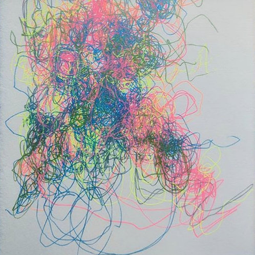 The Cosmic Web (Rainbow Confetti Multiverse)