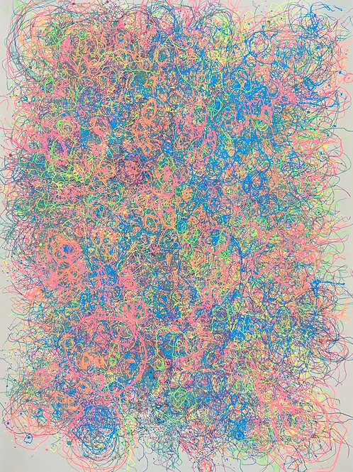 The Cosmic Web (or Rainbow Confetti Multiverse) #53