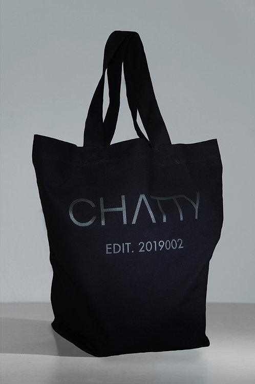 EDIT. 2019002 TOTE BAG BLACK
