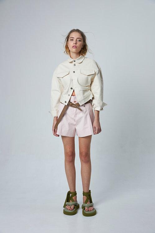 TUA Off-white Selvege Jacket