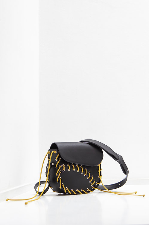 MAAT BLACK/Y Crossbody Bag