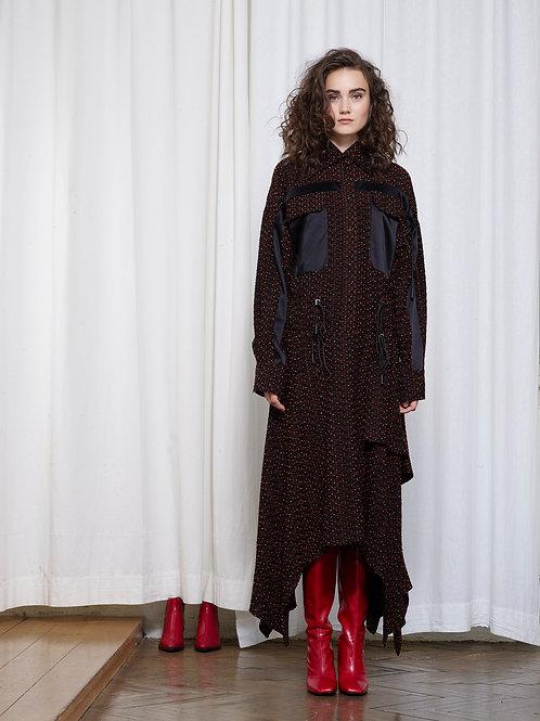 MILADA Jacquard Dress