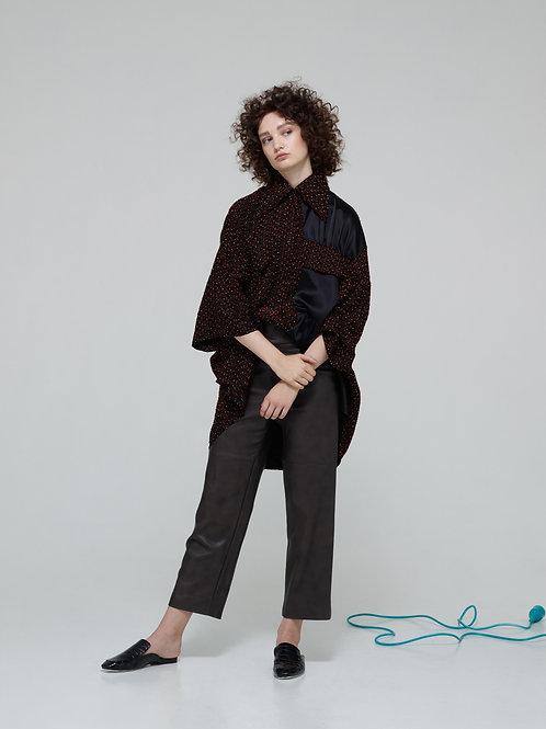 ROMANA Oversized Jacquard Shirt