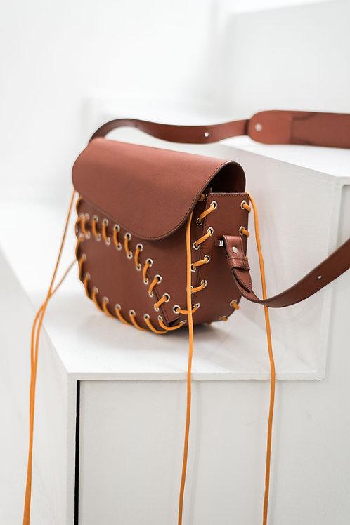 MAAT COGNAC Crossbody Bag