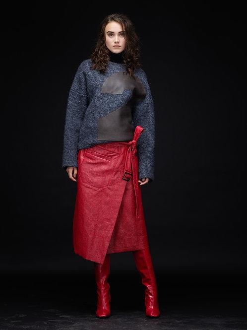 MILENA Waxcoated Skirt