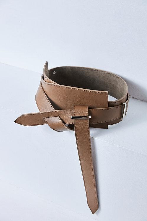 YAGU BEIGE Plate Belt
