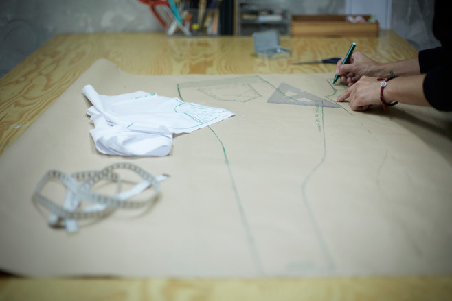 Creation of paper pattern