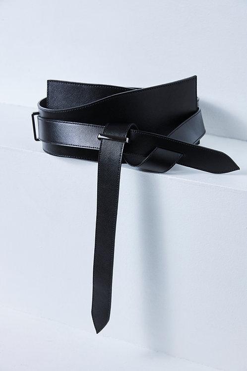 YAGU BLACK Plate Belt