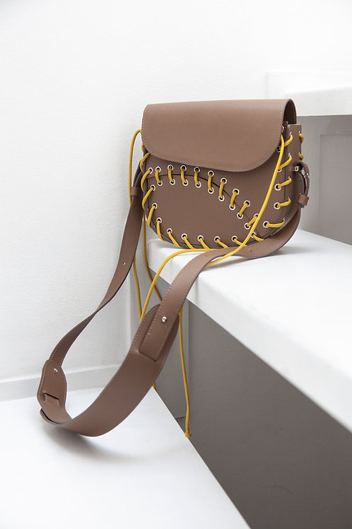 MAAT BEIGE Crossbody Bag