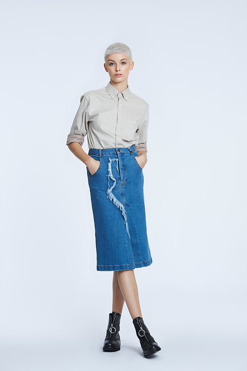BUBASTIS Denim Skirt