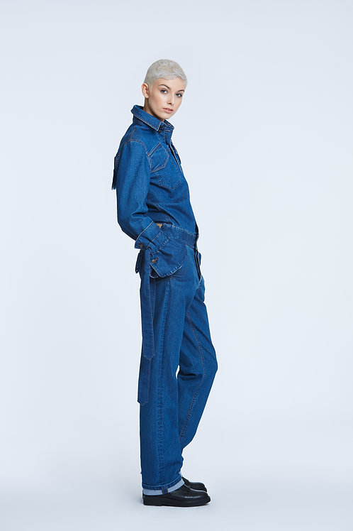 LEX LUTHOR Denim Coverall