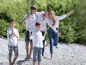Happy Family(shooting): Geschenkidee für Omas Siebziger